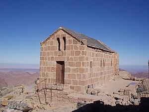 Mount Sinai - A Greek Orthodox Chapel at the top of Mount Sinai