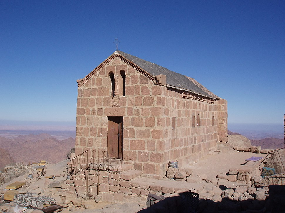 Greek Orthodox Chapel at top of Mt Sinai