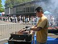 Grilling meat - Iranian Festival - Seattle 2007.jpg