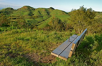 Berkeley Hills - Image: Grizzly Bench