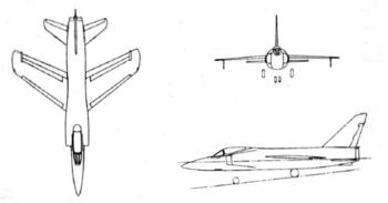 Grumman F11F-1F Super Tiger drawings.png
