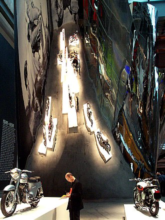 The Art of the Motorcycle - Image: Guggenheim Las Vegas 02