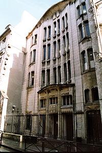 Art Nouveau style synagogue