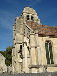 The church of Saint-Nicolas, in Guiry-en-Vexin