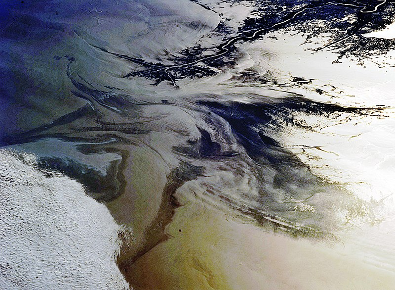 File:Gulf of Mexico Oil Spill Observed From the ISS.JPG