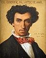 Gustave Boulanger, Portrait of Charles Garnier, 1854, Villa Medici, Académie de France à Rome.jpg