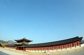 Gyeongbokgung - Heungnyemun gate