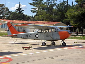Hellenic Air Force Academy -  Cessna T-41D of 360 squadron, used for initial training (screening) at the Hellenic Air Force Academy.
