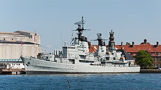 Royal Danish Naval Museum - Image: HDMS Peder Skram F352 Royal Danish Navy Copenhagen Holmen 2014 01