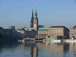 none  Alster i Hamburg