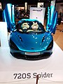 HKCEC 香港會議展覽中心 Wan Chai 蘇富比 Sotheby's Auction preview exhibition 麥華倫 Mclaren race car 720S Spider blue March 2019 SSG 06.jpg