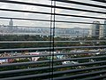 HKCL 銅鑼灣 Causeway Bay 中央圖書館 public library windows view 維多利亞公園 Victoria Park 工展會 HKBPE December 2016 Lnv2 百頁簾.jpg