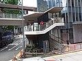 HK 香港電車遊 Tram tour view 金鐘 Admiralty Queensway OneHennessy Road footbridge July 2019 SSG 10.jpg