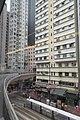 HK Bus 10 view 天后 Tin Hau 英皇道 King's Road Tsing Fung Street bridge flyover July 2017 IX1 01.jpg