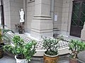 HK Causeway Bay 基督君皇小聖堂 Christ The King Chapel 聖伯多祿 Saint Peter figure Bonsai.JPG
