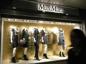Max Mara - Max Mara shop window