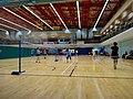 HK SWCC 上環市政大廈 12th Floor 上環體育館 Sheung Wan Sports Centre interior Badminton Tennis Courts Dec-2015 DSC.JPG