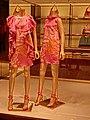 HK TST Harbour City 海港城 night shop 古馳 Gucci red clothing models Jun-2013.JPG
