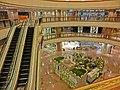 HK TST Harbour City mall interior escaltors night Apr-2013.JPG