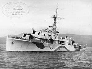 Photograph of HMS Mermaid in 1944