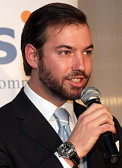 HRH Crown Prince Guillaume of Luxembourg (2010).jpg