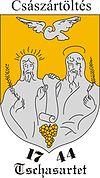 Huy hiệu của Császártöltés