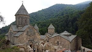 Haghartsin Monastery - The renovated monastery in 2015