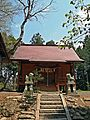 Haiden of Somedono-jinja shrine.JPG