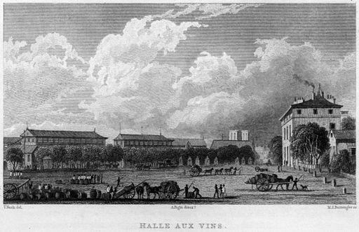 Halle aux Vins, 1831