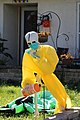 Halloween skeleton with PPE and disinfectant wipes in Largo, Florida October 30, 2020.jpg