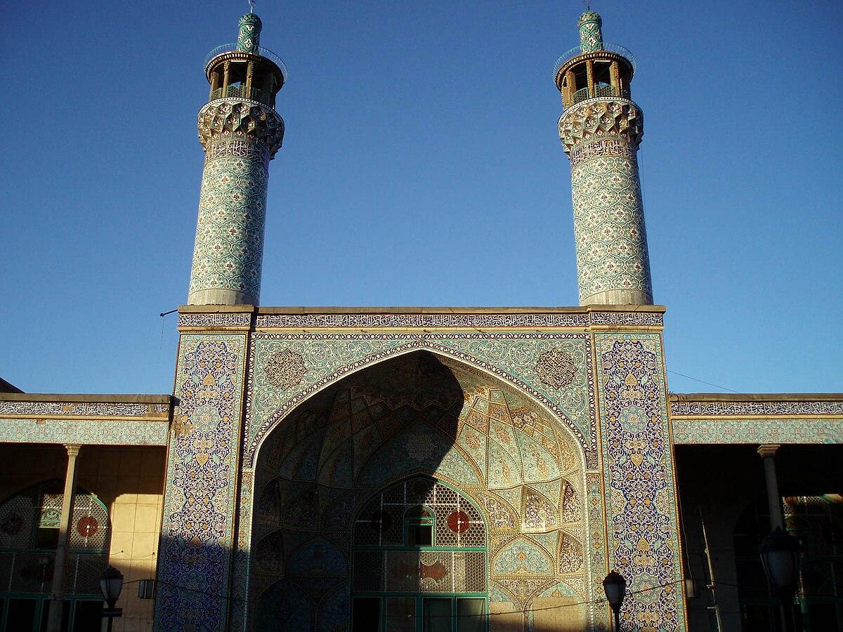 Jameh Mosque of Hamadan - Wikipedia