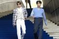 Han Seung-woo and Cho Seung-youn at Seoul Fashion Week SS 2020 02.png