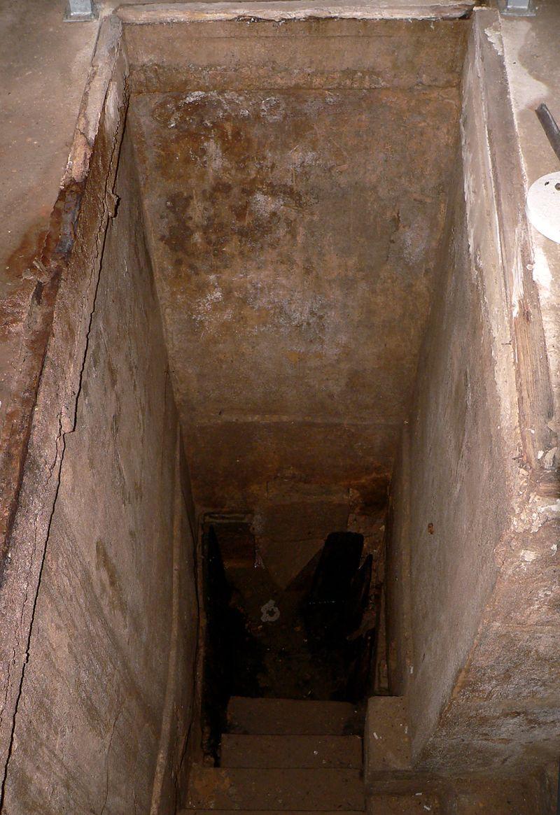 Hann Münden Mikwe Kellergewölbe Strasse Hinter der Stadtmauer Wasser.jpg