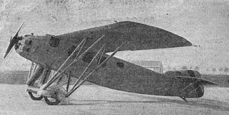 Hanriot H.25 - Image: Hanriot H.25 Les Ailes May 20, 1926
