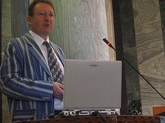 EvoStar - Hans-Paul Schwefel, keynote speaker at EvoStar 2008