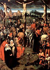 Hans Memling - Crucifixion, 1491