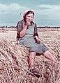 Harvester, meal, 1938. - Fortepan 27196.jpg
