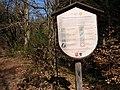 Harz national park regulation information board 01.jpg