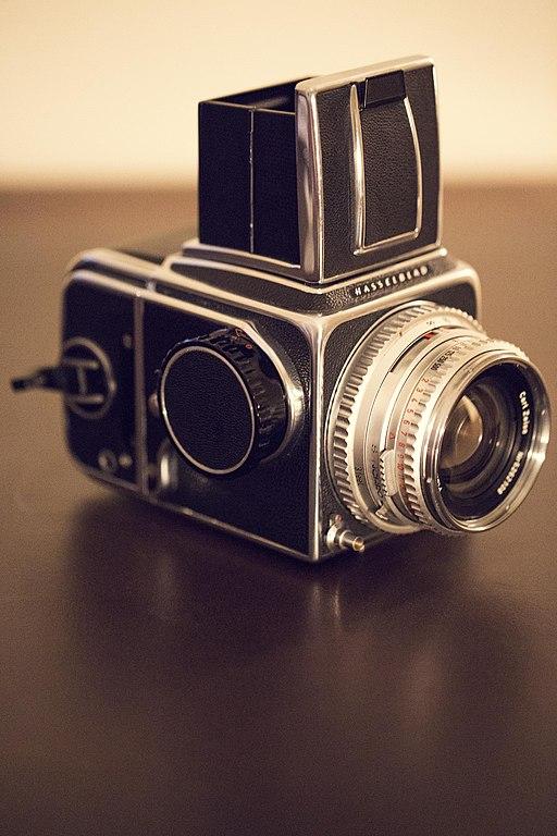 Hasselblad 500 C-M medium format camera