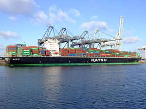 Hatsu Crystal p4, at the Amazone harbour, Port of Rotterdam, Holland 25-Jan-2007.jpg