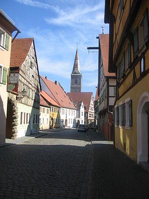 Wolframs-Eschenbach - Image: Hauptstrasse Wolframs Eschenbach