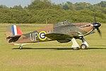 Hawker Hurricane I 'R4118 UP-W' (G-HUPW) (45165432701).jpg