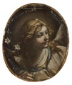 Head of an Angel (Elisabetta Sirani) - Nationalmuseum - 17132.tif