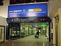 Heathrow Terminal 4 stn arrivals entrance.JPG