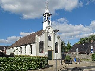 Heiligerlee Village in Groningen, Netherlands