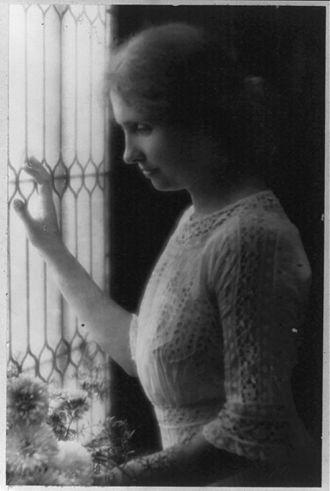 Helen Keller - Helen Keller, circa 1912