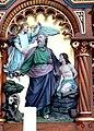 Helfenberg Pfarrkirche - Hochaltar 5 Opferung Isaaks.jpg