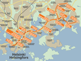 image illustrative de l'article Métro d'Helsinki