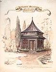 Henrik Backer - Fritzners Pavillon, Studenterlunden - 1887 - Oslo Museum - OB.01203.jpg