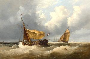 Henry King Taylor - Dutch fishermen at sea.jpg